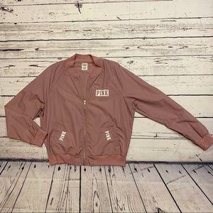 Pink Victoria's Secret levander jacket